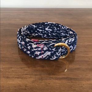 Lily Pulitzer braised belt